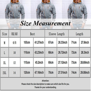 Fashion Men's Sweater Men Zipper Autumn Solid Knitted Streetwear Mens Sweaters Winter Drawstring Casual Slim Sweaters Hip Hop - Center Of Treasures