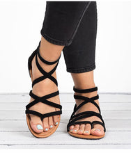 Women Sandals Plus Size Gladiator Shoes Flat Sandals Soft Flip Flop - Center Of Treasures