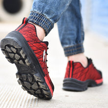 Indestructible Shoes Women Work Safety Shoes Steel Toe Casual Sneakers Work Shoes Women Lace up Outdoor Work Safety Boots For Women - Center Of Treasures