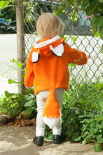 Baby Fox Hoodie Newborn Toddler Kid Baby Boys Girl clothes cotton Fox Cute Ears Outerwear Hooded Coats Jacket Winter - Center Of Treasures