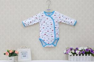 Boys and Girls 0-18 Months Born Bodysuits Newborn Spring and Autumn Clothes New Style Clothing Christmas Gender Natural - Center Of Treasures