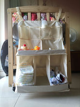 Baby Crib Organizer Waterproof Nursery Diaper Caddy Bed Hanging Diaper/toys/clothes/bottle Storage Bag For Crib Bedding Set - Center Of Treasures