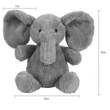 Cute Baby Elephant Plush Toy Long Nose Elephant Doll Pillow Soft Plush Stuff Lumbar Pillow For Children - Center Of Treasures