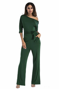 Strapless Off Shoulder Solid Color Jumpsuit Plus Size Women Rompers Elegant Outfit Dressy Casual Prom  Party Fashion - Center Of Treasures