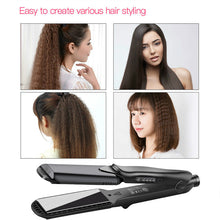 Hair Straightener Professional Curls Best Products Design Flat Iron Hairdressing Styling Wave Perm Rod Corn Hair Clip Curler Maker - Center Of Treasures