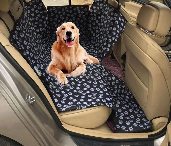 Dog Car Seat Cover Microfiber Waterproof Pet Car Hammock Dog Carriers Rear Back Mats Protector with Safety Belt Transportin Perro - Center Of Treasures
