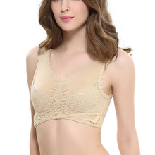 Front Cross Adjustable Bra Side Buckle Lace Sleep Buckle Gathered High Elastic No Steel - Center Of Treasures