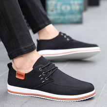 Men Shoes Casual Flat Canvas Comfort Walking Shoe Breathable Leisure Driving Shoe - Center Of Treasures
