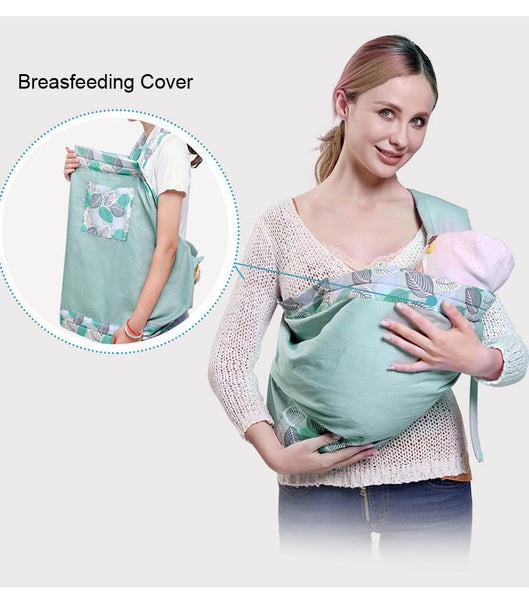 Baby Carrier Sling Newborn Wrap Cover 2019 Best For Men Dad Design Convertible Multi-ways Ringsling/pouch Soft Breathable Infant  Breathable Hipseat Breastfeed Comfortable Nursing - Center Of Treasures