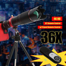Mobile Telescope Universal Optical Zoom Camera Lens Telephoto Lens Phone For Smartphone Cellphone 4k Hd 36x - Center Of Treasures