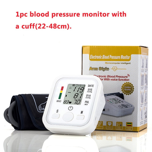 Blood Pressure Cuff Monitor Extra Large 32/48cm Adult Arm Single-tube Sphygmomanometer Arm Cuff Nylon Oxford Patient - Center Of Treasures
