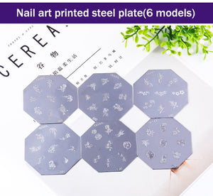 DIY Portable Nail Printer Art Stamping Tool Nail Polish Decoration Printer Machine Nail Stamper Set for Nail Design - Center Of Treasures