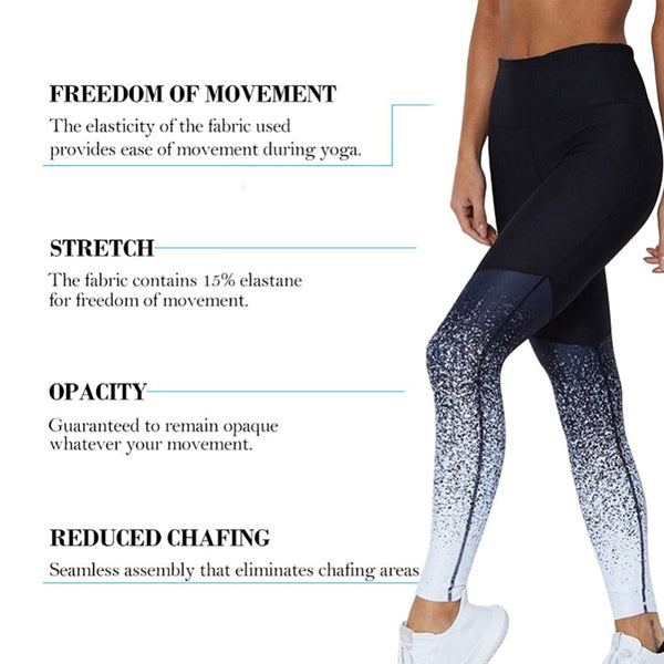 Women Yoga Pants Compression Tights Slim Sports Clothing Sport Seamless Leggings Fitness Running Tights - Center Of Treasures