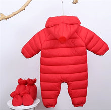 3pcs Newborns Clothes Infants Down Jacket Baby Boys Girls Warm Coat Toddler Thickening Rompers Outerwear - Center Of Treasures