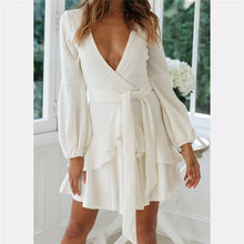 Rompers Jumpsuit V Neck Long Sleeve Casual Elegant Jumpsuit Short Playsuit Combinaison Overalls Lantern - Center Of Treasures
