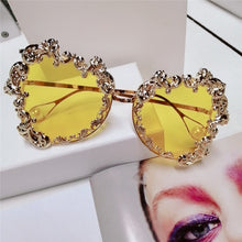 Women Oversized Sunglasses Luxury Brand Vintage Punk Baroque Pearl Sun Glasses Uv400 - Center Of Treasures