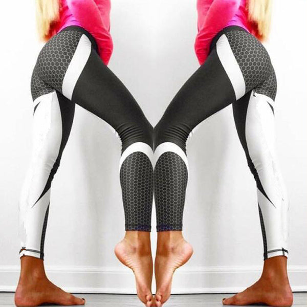 Women Running Leggings Slimming Sports Pants Fitness Clothing Tights Gym Sportswear - Center Of Treasures