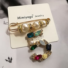 Luxury Jewelry For Women Pearl Brooch Jewelry Flowers Lapel Pins No 5 - Center Of Treasures