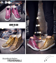 Stylish High-top Men's And Women's Sneakers Shoes Comfortable And Quick-drying Breathable - Center Of Treasures