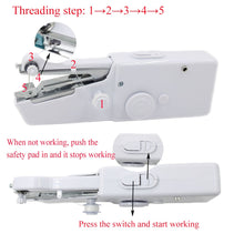 Mini Handheld Manual Sewing Machine Portable Quick Stitch DIY Tool - Center Of Treasures