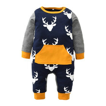Baby Rompers Infant Newborn Jumpsuit Clothing Baby Boy Girl Long Sleeve Cartoon Cotton - Center Of Treasures