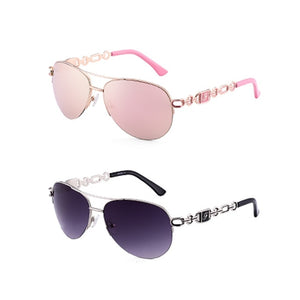 Sunglasses Women Pilot Mirror Sun Glasses UV400 - Center Of Treasures