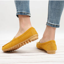 Women Flats Casual Shoes Suede Loafers Slip On Soft Ballet Flat Spring Moccasins Shallow Ladies Shoes Plus Size - Center Of Treasures