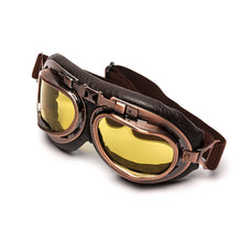 STEAMPUNK AVIATOR VINTAGE GOGGLES - Center Of Treasures