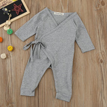 Newborn Infant Baby Girls Boys Wings Lacing Romper Jumpsuit Outfits Clothes - Center Of Treasures