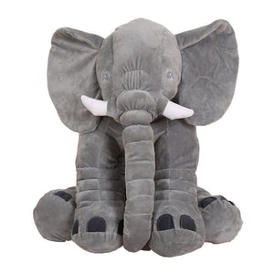 Giant Elephant Baby Pillow Stuffed Animal colorful Toy - Center Of Treasures
