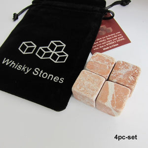 100% Natural Whiskey Stones Sipping Ice Cube Whisky Stone Whisky Rock Cooler Wedding Gift Favor Christmas Bar - Center Of Treasures