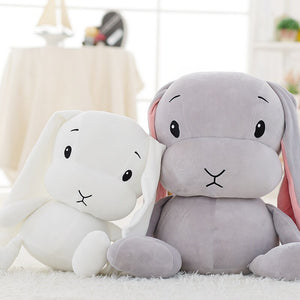 Lucky Boy Sunday 65/50/25cm Cute Rabbit Plush Toy Stuffed Soft Rabbit Doll Baby Kids Toys Animal Toy Birthday Christmas Gift - Center Of Treasures