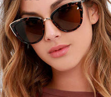 Cateye Sunglasses Women Vintage Gradient Glasses Retro Cat eye Sun glasses Female Eyewear UV400 - Center Of Treasures