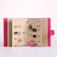 Jewelry Organizer Portable Earring Storage Book Multifunctional Travel Jewelry Case for Earrings Necklace and Rings - Center Of Treasures