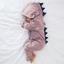 Dinosaur Baby Romper Newborn Infant Jumpsuit Outfits Clothes 3d Dinosaur Costume Rompers Warm Spring Autumn Cotton - Center Of Treasures