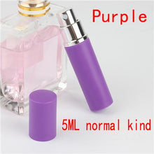 5ml Portable Mini Refillable Perfume Bottle With Spray Scent Pump Empty Cosmetic Containers Spray Atomizer Bottle For Travel New - Center Of Treasures
