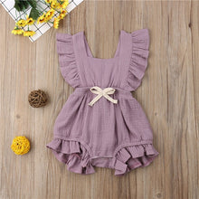 Newborn Baby Girl Rompers Jumpsuit Summer Ruffle Pp Cotton Little Girls  Crochet Autumn Design Dress Hot Play Party Gift Kids Outfits Cute Baby Clothes 6-24m - Center Of Treasures