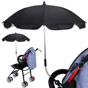 UV Protection Rainproof Baby Infant Stroller Cover Umbrella Can Be Bent Freely Does Not Rust Universal Stroller Accessories - Center Of Treasures