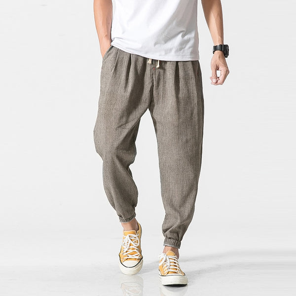 Casual Harem Pants Men Jogger Pants Men Fitness Trousers Male Chinese Traditional Harajuku 2019 Summer Clothe - Center Of Treasures