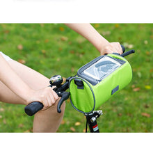 2-in-1 Handlebar Bike Bag Bicycle Bags Panniers Touch Screen Cycling Phone Bag Front Bicycle Tube Handlebar Tube Cylinder Bags Travel Accessories - Center Of Treasures