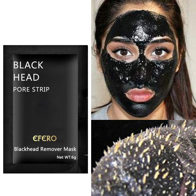 Blackhead Mask Peel Off Black Mask for Face Nose Remove Blackhead Peeling Mask Pore Strip Cleanser Acne Spot Treatment - Center Of Treasures
