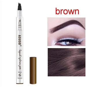 Eyebrow Micro Blading Pen Waterproof Eye Makeup Long Lasting Professional Deep Color Pencil - Center Of Treasures