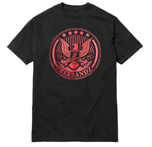 Freebandz Emblem Tee – Black/Red