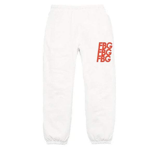 FBG ALL STAR RED SWEATPANTS
