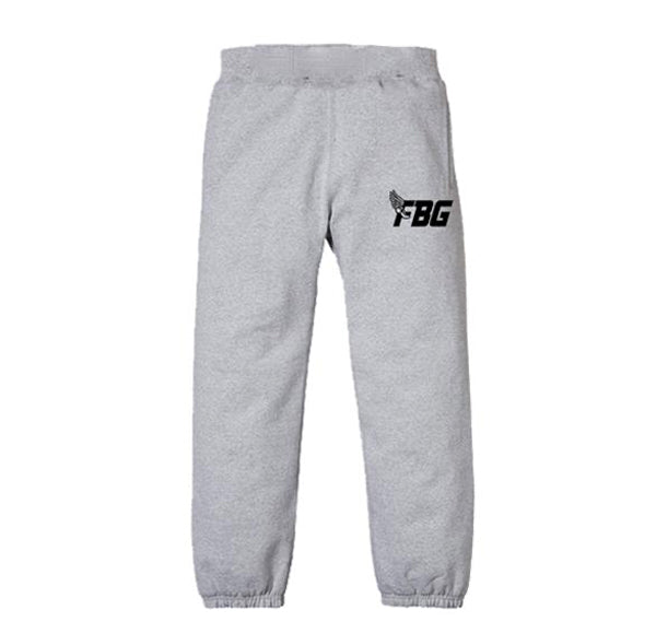 FBG Wing Sweatpants - Grey