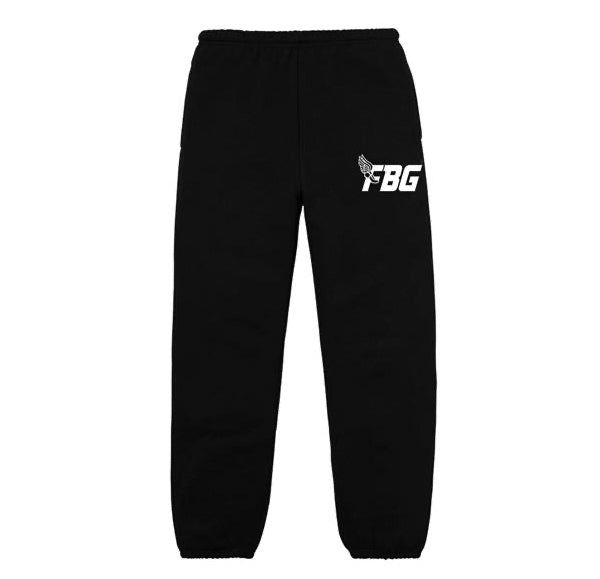 FBG Wing Sweatpants - Black