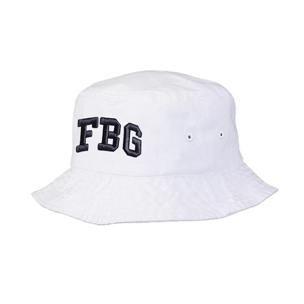 FBG Bucket hat (WHITE)