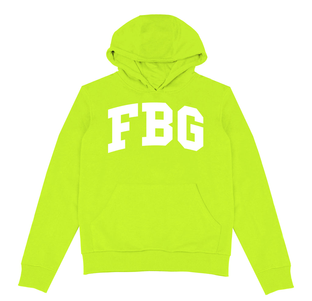FBG Collegiate Hoodie - Safety Yellow