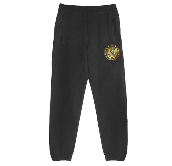 Freebandz Gold Emblem Sweatpants