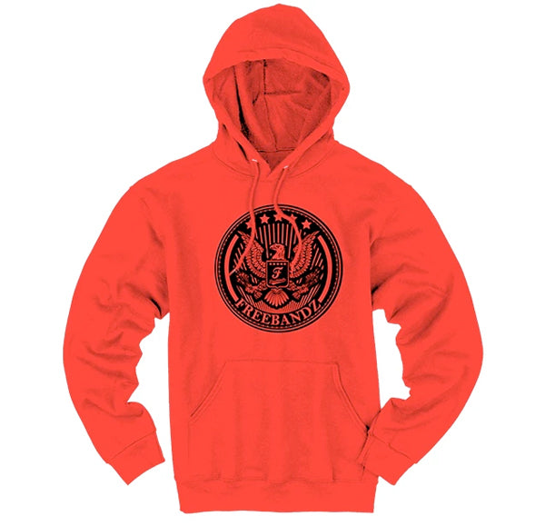 Freebandz Emblem Hoodie – Red/Black